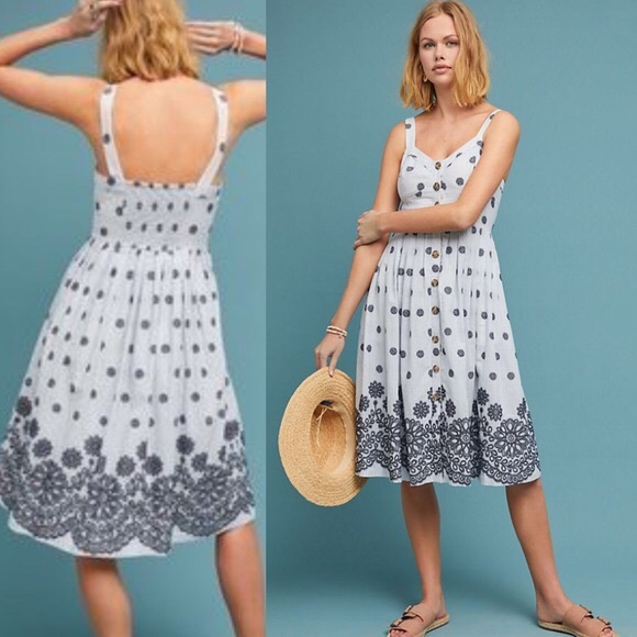 Anthropologie Dresses & Skirts - Anthropologie Savoy Buttondown Dress